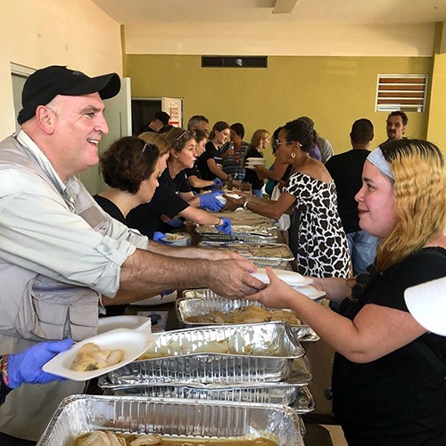 José Andrés realiza una enorme labora humanitaria que canaliza a través de su ONG World Central Kitchen